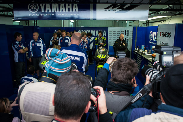 Tuesday Summary at Valencia: Of Debuts, Jealousies, & the Confounded Weather 2012 MotoGP Valencia Test 0089