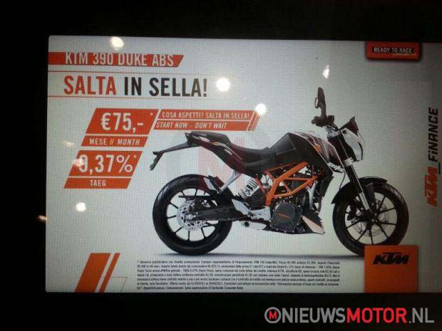Leaked: 2013 KTM 390 Duke   373cc, 43hp, EFI, A2 Ready 2013 KTM 390 Duke leak 02
