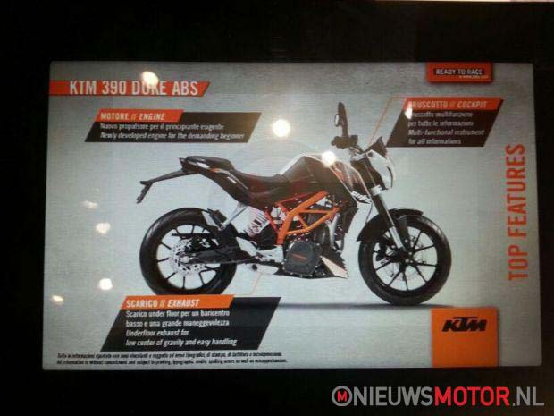 Leaked: 2013 KTM 390 Duke   373cc, 43hp, EFI, A2 Ready 2013 KTM 390 Duke leak 03