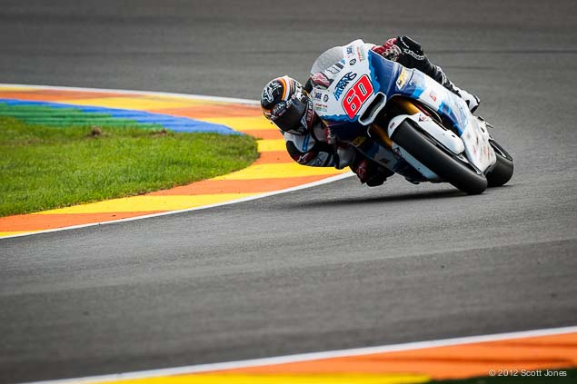 Monday at Valencia with Scott Jones Monday Valencia Test Moto2 Scott Jones 02