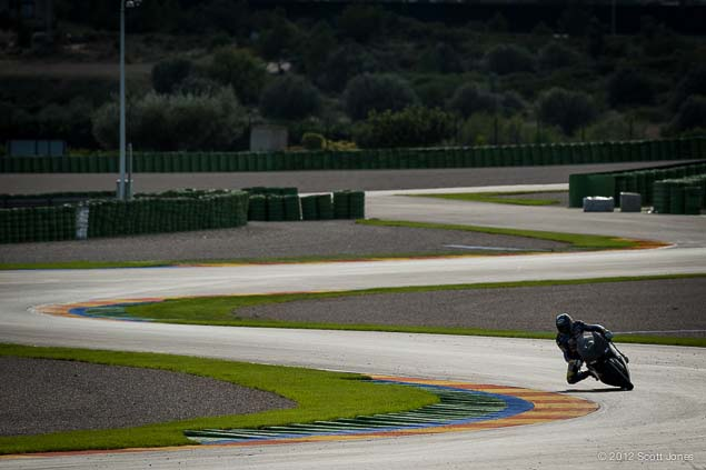 Monday at Valencia with Scott Jones Monday Valencia Test Moto2 Scott Jones 04