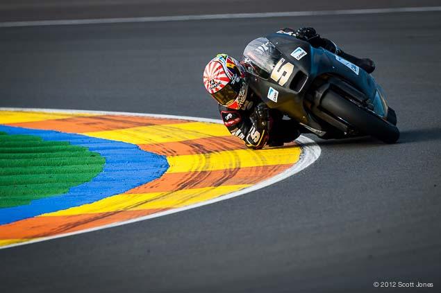 Monday at Valencia with Scott Jones Monday Valencia Test Moto2 Scott Jones 07