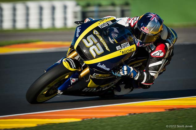 Monday at Valencia with Scott Jones Monday Valencia Test Moto2 Scott Jones 11