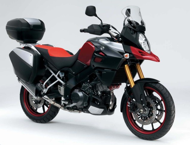 More Photos of the Suzuki V Strom Concept Suzuki V Strom Concept01 635x486