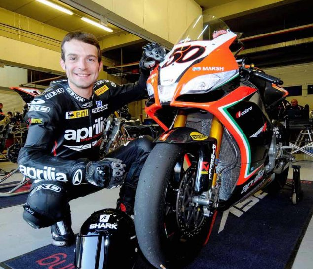 Official: Sylvain Guintoli to Aprilia Racing for WSBK sylvain guintoli aprilia racing