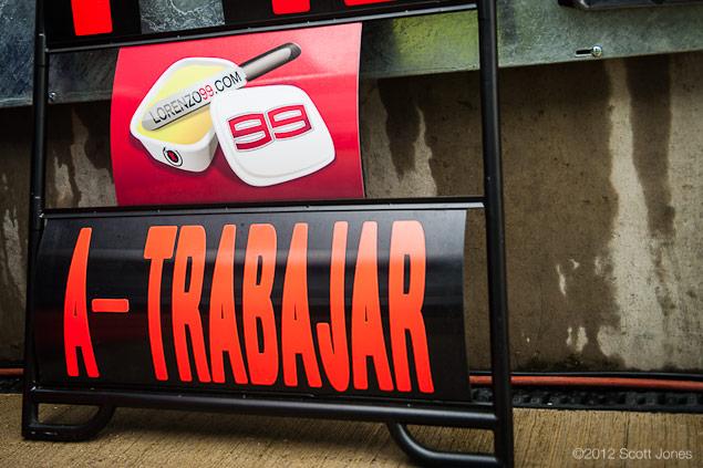 Jorge Lorenzos 2012 MotoGP Championship: A Triumph Of Consistency   Part 1 2012 MotoGP 06 Silverstone Friday 0004