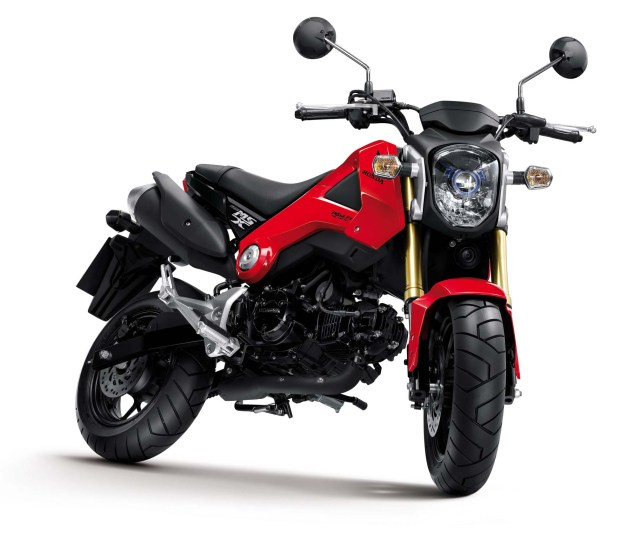 Honda MSX125 Will Make a Monkey Out of You 2013 Honda MSX125 Monkey 04 635x539