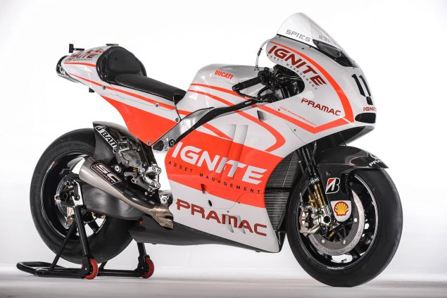 Ben Spies and His Pramac Ducati Livery Ben Spies Pramac Ducati Desmosedici GP13 635x423