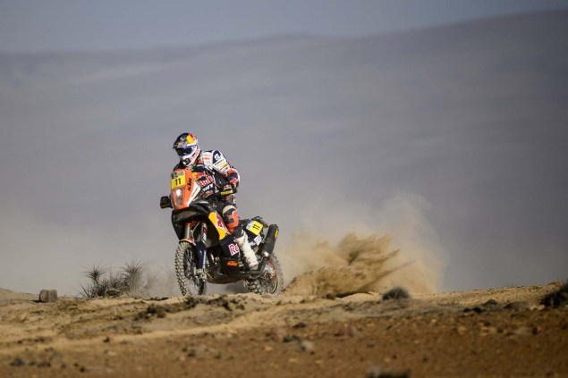 Dakar Rally   Stage 6: Yamaha Leads KTM into Chile Dakar Rally Ruben Faria 635x423