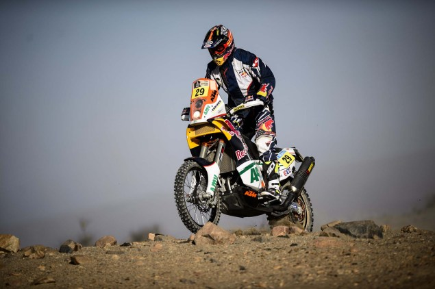 Dakar Rally   Stage 7: American Kurt Caselli Takes First Win Kurt Caselli KTM 2013 Dakar Rally 11 635x422