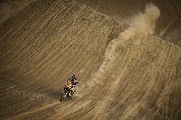 Dakar Rally   Stage 7: American Kurt Caselli Takes First Win Kurt Caselli KTM 2013 Dakar Rally 14 635x422