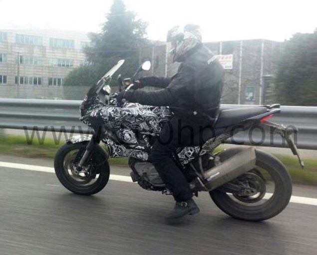 Spy Shot: Husqvarna Nuda Touring Bike husqvarna nuda 900 touring spy photo