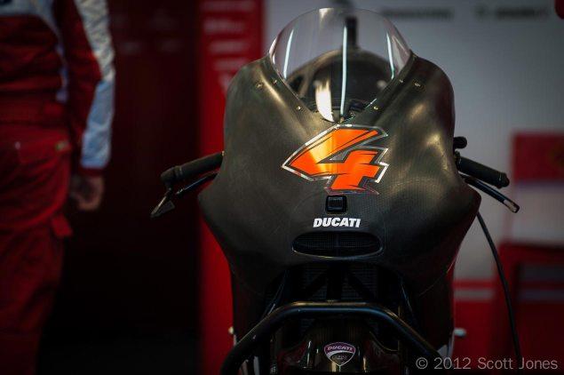 2013 MotoGP Pre Season Testing Starts at Sepang Andrea Dovizioso Ducati Corse Valencia MotoGP Scott Jones 635x422