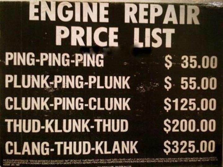 automotive repair complaints