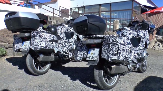 Spy Video: BMW R1200GT 2014 BMW R1200GT spy photo 06 635x355