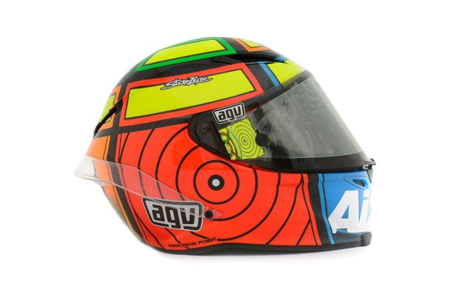 Photos: The Five AGV Pista GP Helmets in MotoGP AGV Pista GP MotoGP Andrea Iannone 1 635x423