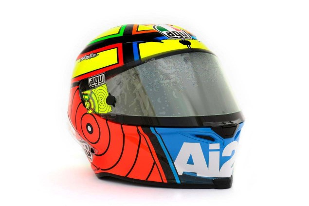 Photos: The Five AGV Pista GP Helmets in MotoGP AGV Pista GP MotoGP Andrea Iannone 4 635x423