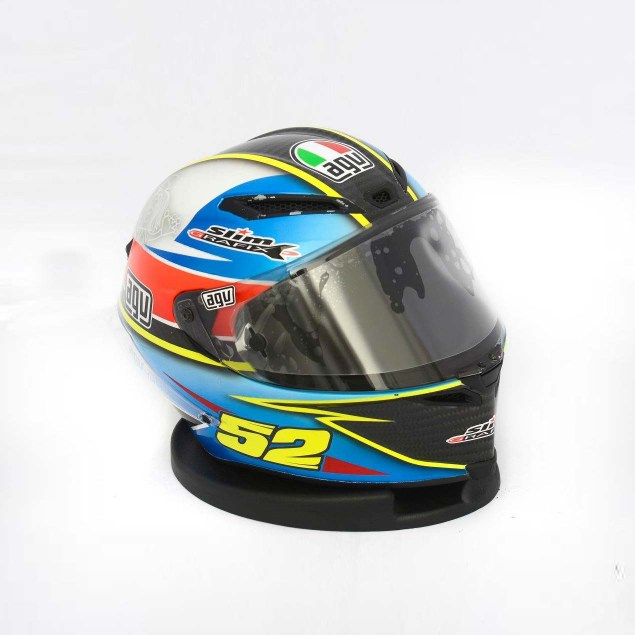 Photos: The Five AGV Pista GP Helmets in MotoGP AGV Pista GP MotoGP Lukas Pesek 4 635x635