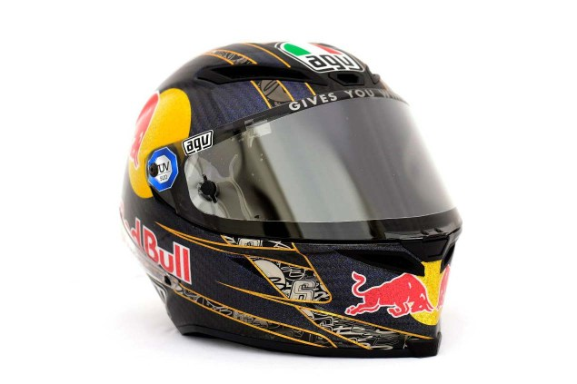 Photos: The Five AGV Pista GP Helmets in MotoGP AGV Pista GP MotoGP Stefan Bradl 04 635x423