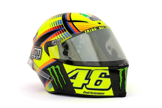 Photos: The Five AGV Pista GP Helmets in MotoGP AGV Pista GP MotoGP Valentino Rossi 8 635x424