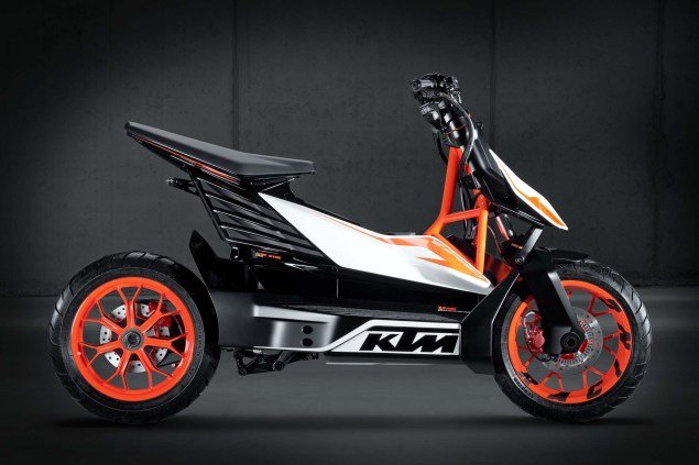 KTM E Speed Available in 2015   KTM Freeride E in 2014 KTM E Speed electric scooter concept 08 635x423