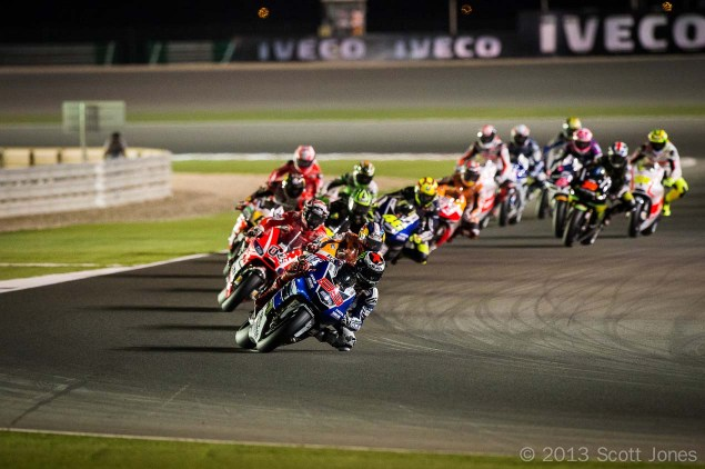 Trackside Tuesday: The Story Begins Scott Jones MotoGP Qatar T2 in 635x422
