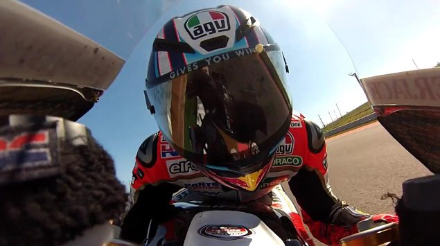 Lap COTA with Stefan Bradl on the Honda RC213V stefan bradl on board video COTA 635x355