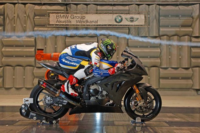 WSBK: Chaz Davies Hits the Wind Tunnel Ahead of Monza Chaz Davies BMW S1000RR Wind Tunnel WSBK 01
