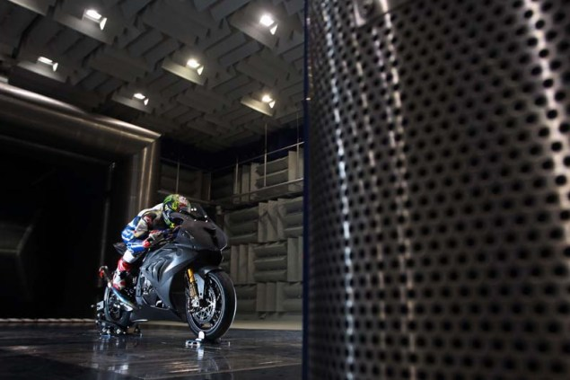 WSBK: Chaz Davies Hits the Wind Tunnel Ahead of Monza Chaz Davies BMW S1000RR Wind Tunnel WSBK 02