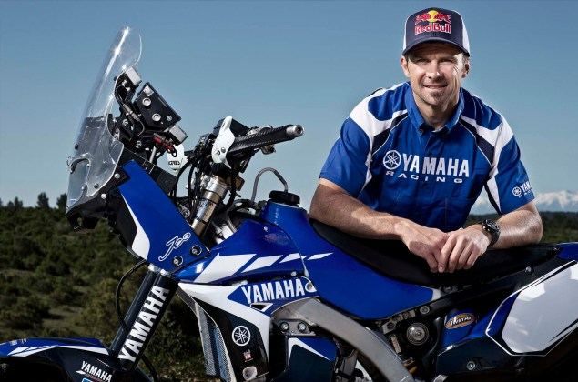 Cyril Despres Will Ride with Yamaha in the 2014 Dakar Rally Cyril Despres Yamaha Motor France 2014 Dakar Rally 03 635x420