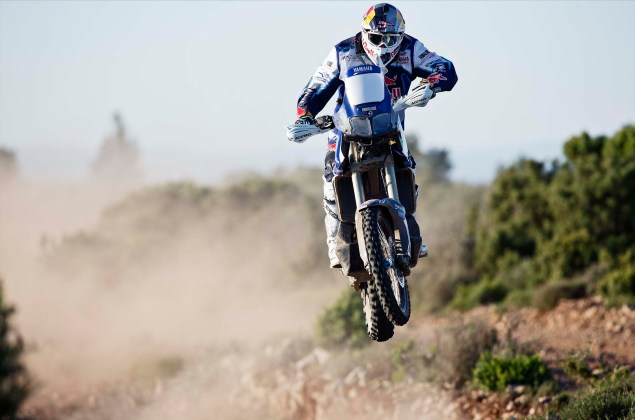 Cyril Despres Will Ride with Yamaha in the 2014 Dakar Rally Cyril Despres Yamaha Motor France 2014 Dakar Rally 07 635x420