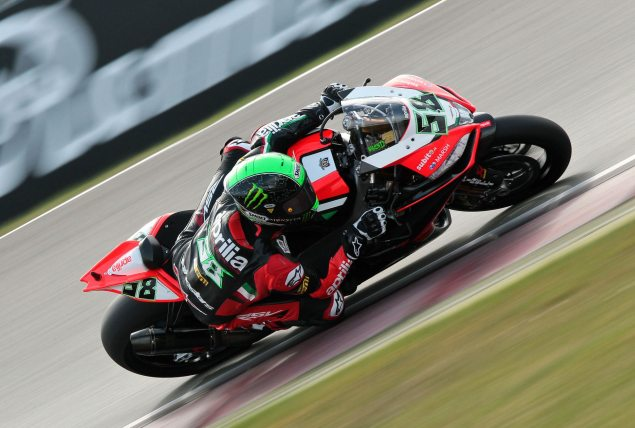 WSBK: Race Results for Race 2 at Monza eugene laverty aprilia racing wsbk monza 635x428