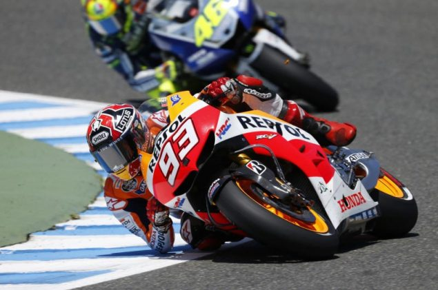 Sunday Summary at Jerez: The Aggressive Mr. Marquez marc marquez spanish gp motogp hrc