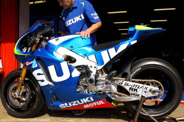 XXX: 10 Photos of the Suzuki XRH 1 Testing at Catalunya 2015 Suzuki XRH1 MotoGP Catalunya Niki Kovacs 05