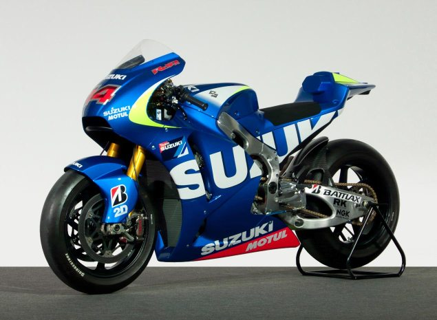 Suzuki Returning to the MotoGP Championship in 2015 2015 suzuki motogp race bike inline four 635x465