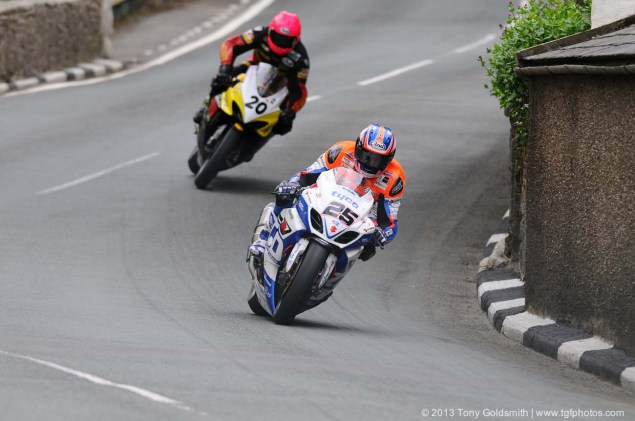 IOMTT: Barregarrow with Tony Goldsmith Barregarrow Superbike TT race Isle of Man TT Tony Goldsmith 02 635x421