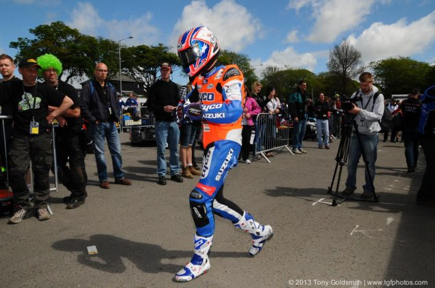 IOMTT: Josh Brookes Fastest Newcomer Ever at the TT Josh Brookes Isle of Man TT Tyco Suzuki Tony Goldsmith 635x421