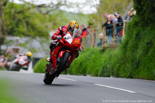 Trackside Tuesday: From Over the Hedge Trackside Tuesday Isle of Man TT 2013 Tony Goldsmith 01 635x421