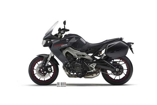 Yamaha MT DM 850 Concept by Luca Bar Design Yamaha MTDM Concept Luca Bar Design 03 635x425
