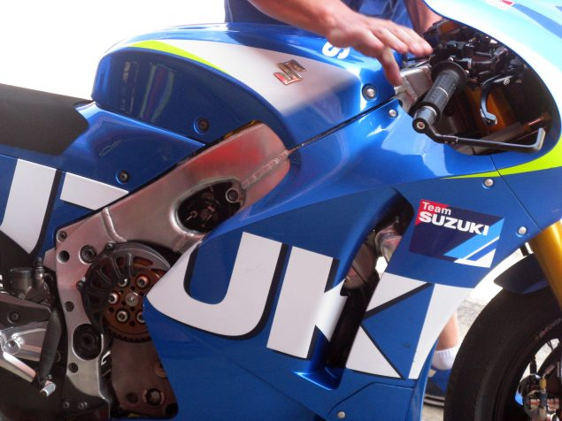 Analyzing MotoGPs Game of Thrones at the Catalan Test suzuki xhr1 catalan test motogp david emmett 1 635x476