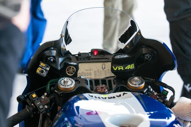 Engine Trouble Looming For Yamaha in MotoGP   Rossi & Lorenzo Burning Through Their Allocations valentino rossi yamaha yzr m1 cota motogp jensen beeler 635x423