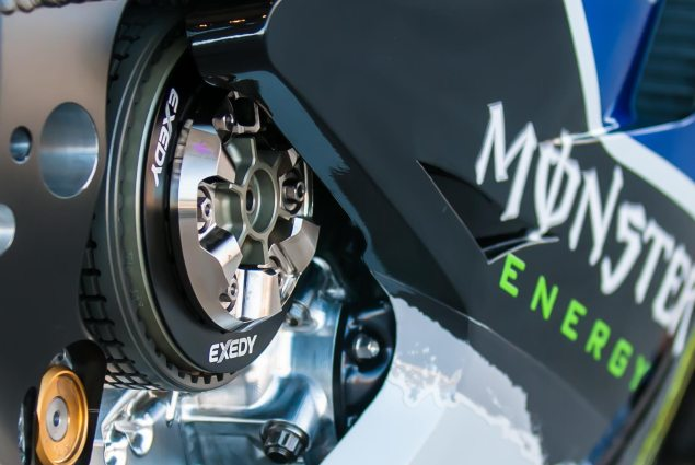 MotoGP: When Will Yamahas Seamless Gearbox Arrive? Probably Not This Season yamaha yzr m1 clutch 635x425