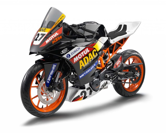 2014 KTM RC390 Cup   A Glimpse of Whats to Come 2014 KTM RC390 race bike unveil 13 635x512
