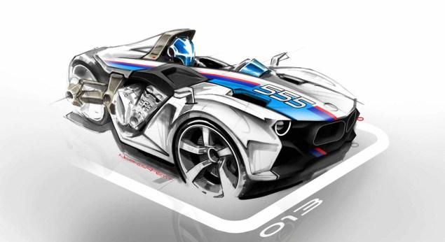 BMW K1600GT Hybrid 3 Wheeler Concept by Nicolas Petit BMW K1600GT 3 Wheeler Nicolas Petit 01 635x346