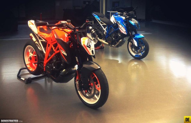 Moar Photos of the KTM 1290 Super Duke R Patriot Edition KTM 1290 Super Duke R Patriot Edition derestricted Piers SP 04