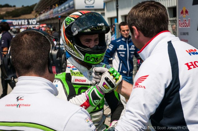 Rating the Riders of MotoGP: Alvaro Bautista – 7/10 Saturday Laguna Seca US GP MotoGP Scott Jones 04 635x423