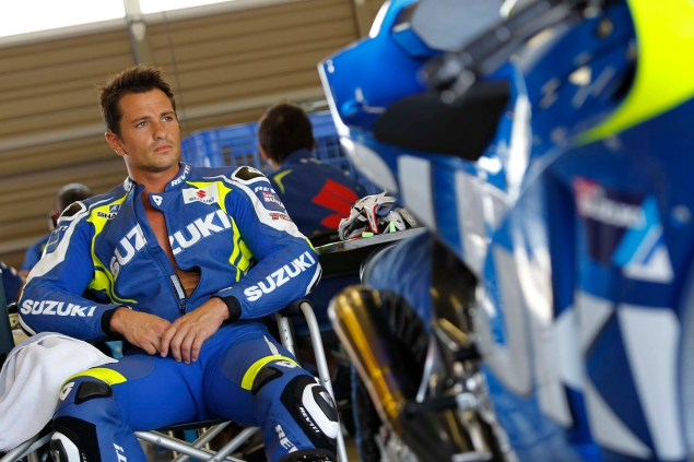 Photos: Suzuki MotoGP Team Testing at Motegi with RdP Suzuki Racing MotoGP Motegi test 06 635x423