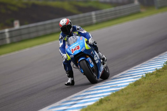 Photos: Suzuki MotoGP Team Testing at Motegi with RdP Suzuki Racing MotoGP Motegi test 34 635x423