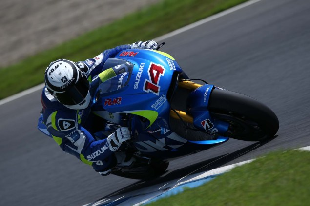 Photos: Suzuki MotoGP Team Testing at Motegi with RdP Suzuki Racing MotoGP Motegi test 46 635x423