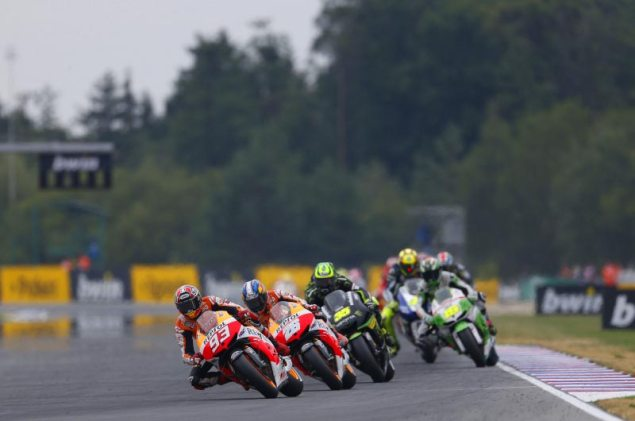 Sunday Summary at Brno: Three Great Races marc marquez brno hrc